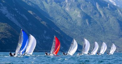 Melges 24 European Sailing Series Regatta in Riva del Garda