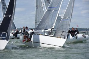 Aguila leads to claim the win in the Quarter Ton Fleet