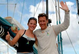 Sam Davies und Nick Moloney in Bahia 2003