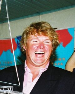 Simon Rowell im Clipper Round Race 2002