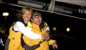M. Paret und D.Wavre im Barcelona World Race07