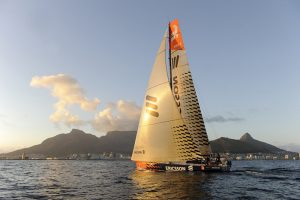 Ericsson 3 third VOR-boat into Cape Town 2008