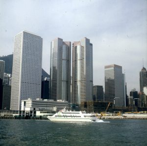 neues Hochhauscenter nahe Starferry
