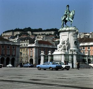 Portugal Lissabon Placa do Commercio 1977