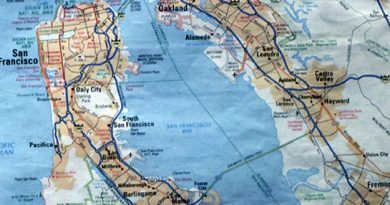 San Francisco Bay Oakland-Silikon Valley