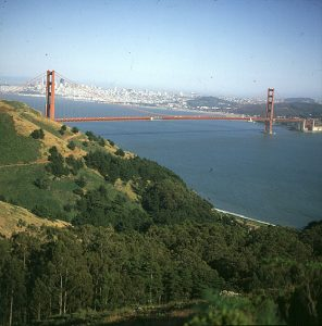 Golden Gate Bridge mit SF-Blick