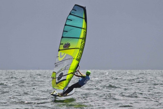 Foiling King of the Bay