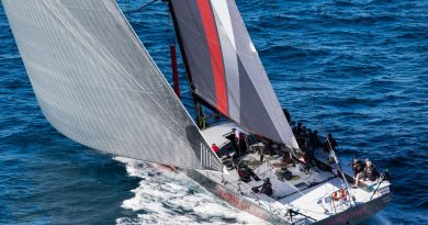 Scallywag taking part in the VOR