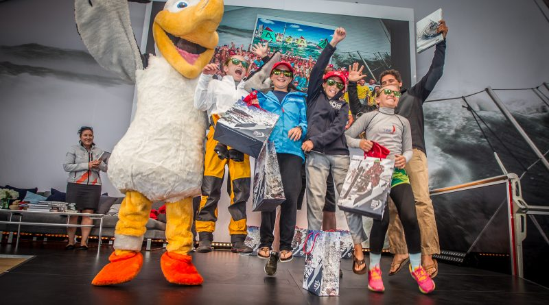 young volvo people with World Sailing