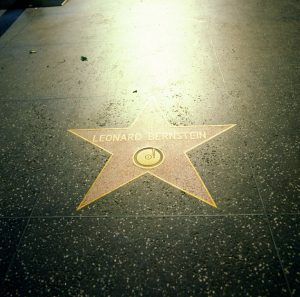 L.A. Hollywood Walk of fame 1986
