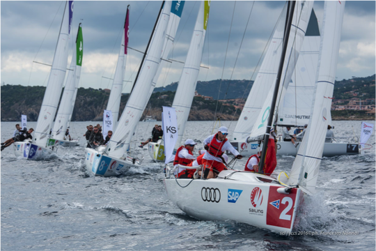 Sailing Champions League in St.Moritz