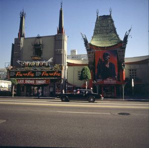 Los Angeles Hollywood Grauman Theater 1986