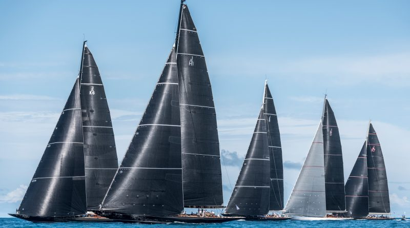 America's Cup Superyacht Regatta, Day 1