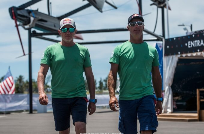 Double gold olympic medalists, America's Cup