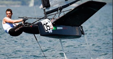 Foiling-Week Garda day 3