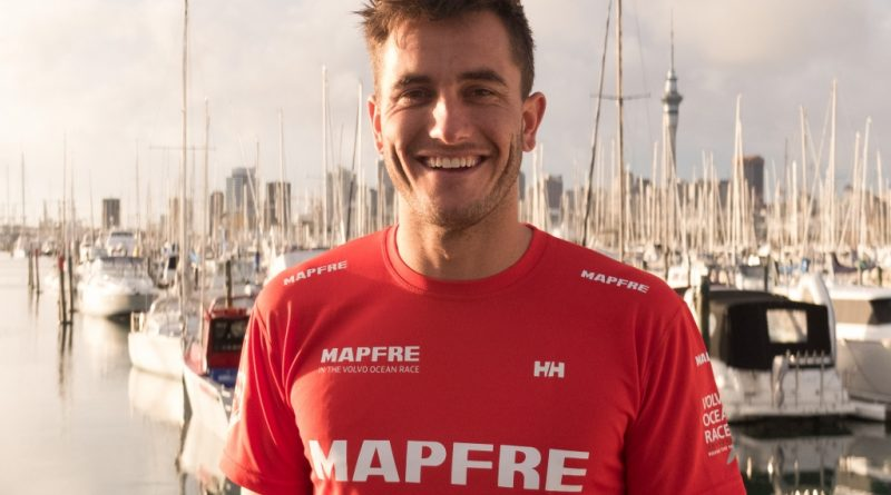 Blair Tuke, new crew member of MAPFRE for Volvo Ocean Race 2017-18.