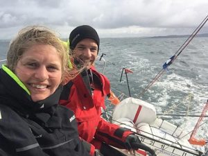 Offshore Academy 21 sailed by Joan Mulloy and Cathal Clarke from Ireland