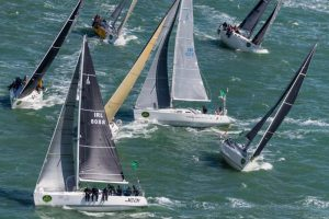 IRC 3, the largest fleet in the Rolex Fastnet Race © Rolex/Carlo Borlenghi