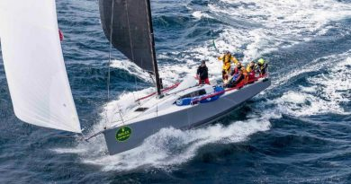 Lann Ael 2, Didier Gaudoux's French JND 39 is leading IRC One in the Rolex Fastnet Race © Rolex/Carlo Borlenghi