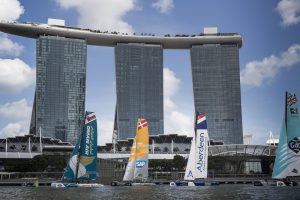 The Extreme Sailing Series 2015, Act 1, Singapore