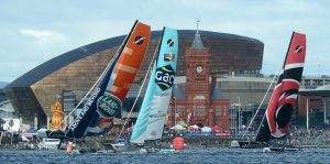 24.08.13 - Extreme Sailing, Cardiff Bay - © Huw Evans Picture Agency