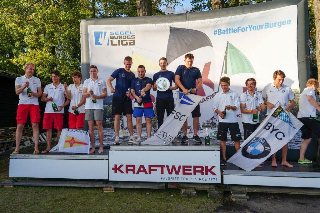Gesamtsieger 2019 - Deutsche Junioren Segel-Liga