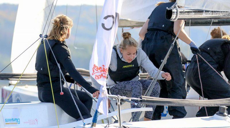 Mädels Team Mühlenberger Segel-Club