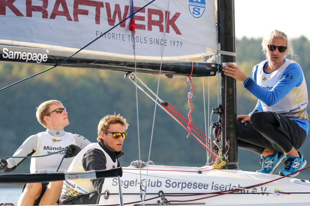 Team Münchner Yacht-Club - DJSL 2019 Finale Möhnesee