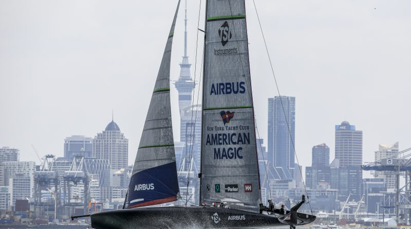 NYYC American Magic Team America`s Cup World Series Auckland