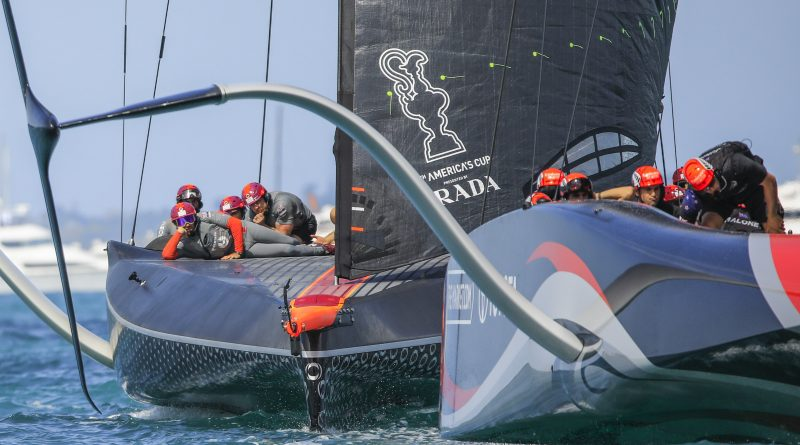 Americas Cup Christmas Race kein Wind kein Rennen