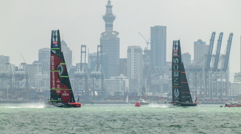 Emirates Team New Zealand - PRADA ACWS Auckland Day 2