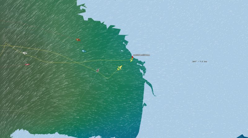 Vendee Globe Tracking Map