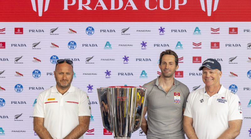 Prada Cup 2021 Press Conference Auckland