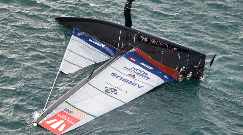 American Magic Capsize Prada Cup