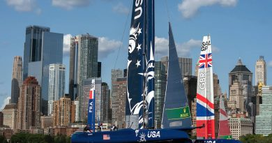 SailGP: Saison 2021 F50 mit 8 Events !