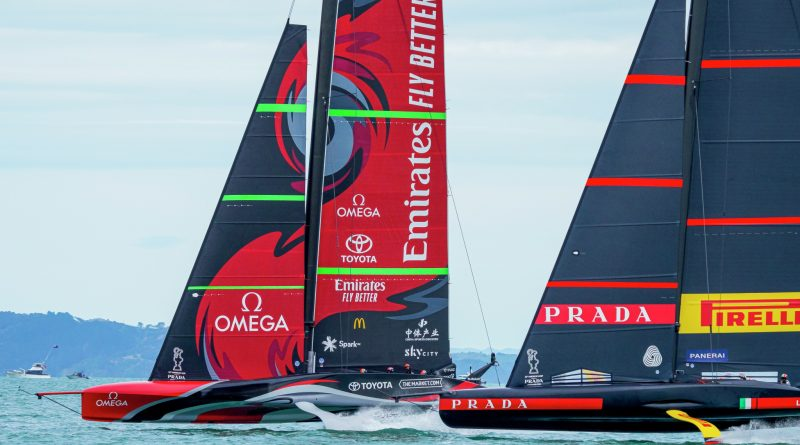 36. America`s Cup : 1 Tag