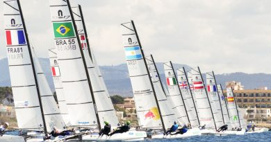 Santiago Lange Nacra 17 Mallorca Trofeo Princesa Sofia 2019