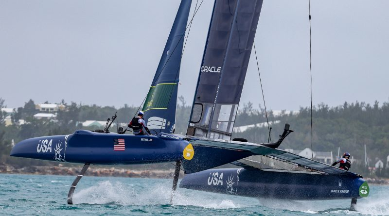 SailGP: Bermuda Sail Grand Prix ersten Test USA Team